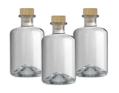 5x Apothekerflasche 350 ml Glas Flaschen leer Essigflaschen Ölflaschen Schnapsflaschen Likörflaschen zum selbst befüllen VERSAND INNERHALB 24 STD!