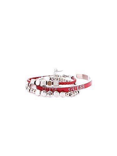 Luxury Fashion | Guess Dames JUBS80060JWARGENTO Zilver Metaal Armbanden | Seizoen Outlet