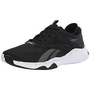 Reebok Men's HIIT TR, Black/White, 13 M US