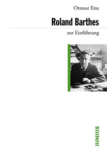 Roland Barthes zur Einführung