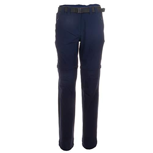 CMP Outdoor-Zipp-Off-Hose Damen | atmungsaktiv und Winddicht | mit UV-Schutz und Gürtel | Ideal zum Wandern geeignet