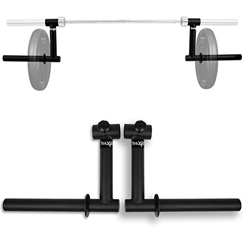 Yes4All Power Rack Attachment – Multiple Choice Fit 2x2 in Or 3x3 in Square Tube