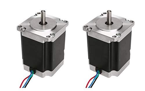 DE-Ship Free Nema23 - Motore passo-passo 23HS8430D8, 76 mm, 3,0 A, diametro 8 mm, CNC OEM ACT MOTOR GmbH
