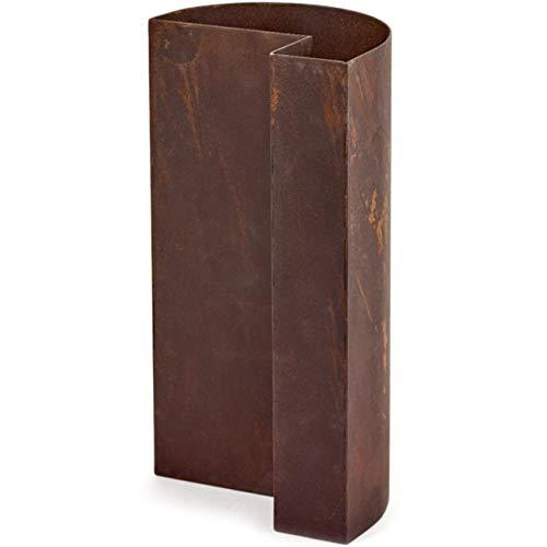 Frédérick Gautier FCK Bau Vase, rostfrei, 12 x 15 x 29 cm