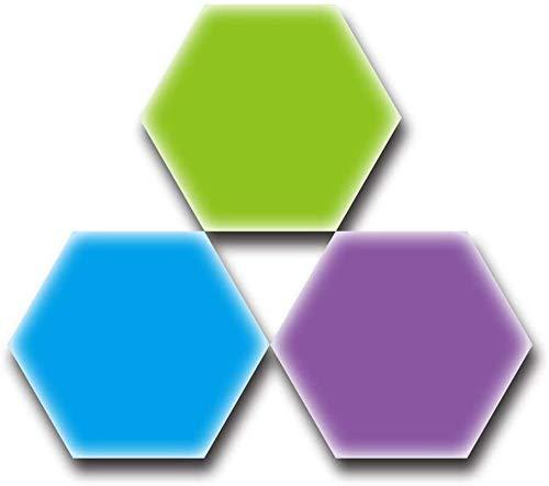 Creative Nanoleaf Hexagonal Lamp LED Luces de panal Geometry