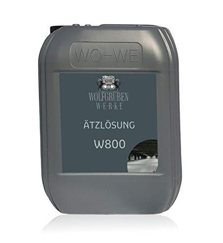 10L Untergrundvorbereitung - Ätzlösung W800 für Bodenfarbe Epoxid Bodenbeschichtung statt Grundierung