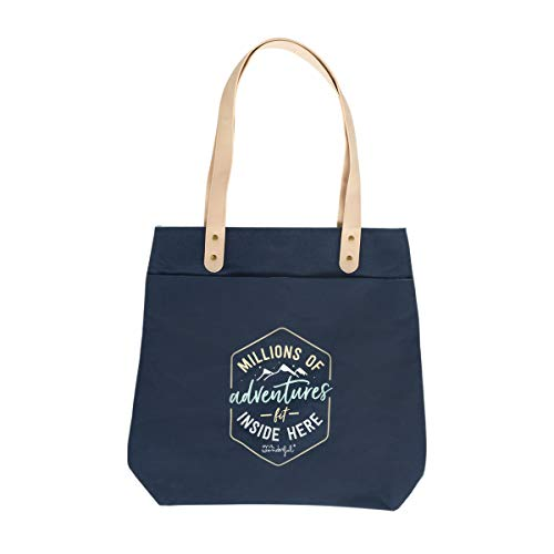 Tote bag - Millions of adventures fit inside here (ENG)