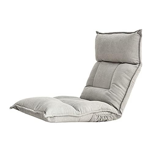 CGDX Computer Gaming Stuhlkissen, Schlafzimmerstühle, für Erwachsene Lazy Sofa Tatami faltbares einzelnes kleines Schlafsofa Erkerfenster Schlafzimmer Lounge Chair