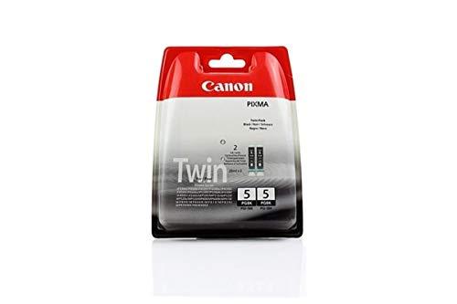 Canon Pixma MP 500 (PGI-5 BK / 0628 B 025) - original - 2 x Tintenpatrone schwarz - 800 Seiten - 26ml