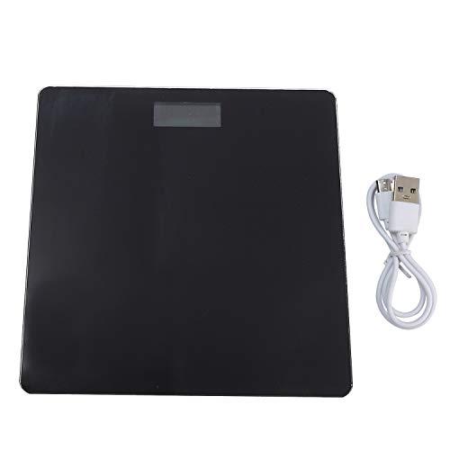 Cuasting vloer weegschalen lichaam vet schaal glas elektronische slimme weegschalen USB opladen LCD display digitale badkamer lichaam gewicht schaal