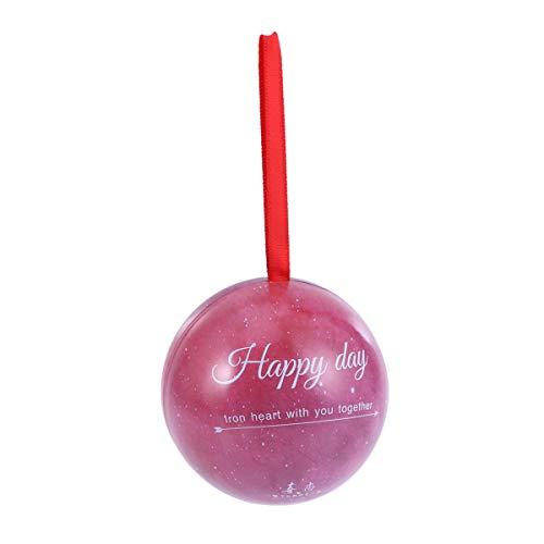 Amosfun Candy Favor Boîte Cadeau en Forme de Boule Motif Ciel étoilé