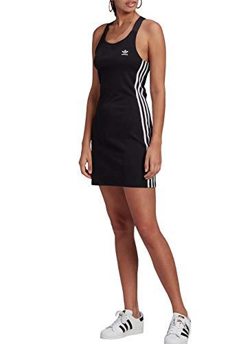adidas Damen Racer B Dress T Shirt, Schwarz, 34 EU