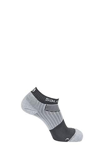 Salomon 1 Paar Niedrig geschnittene Unisex-Socken, Sense Pro, grau (forged iron), Größe L (42-44), L39826400