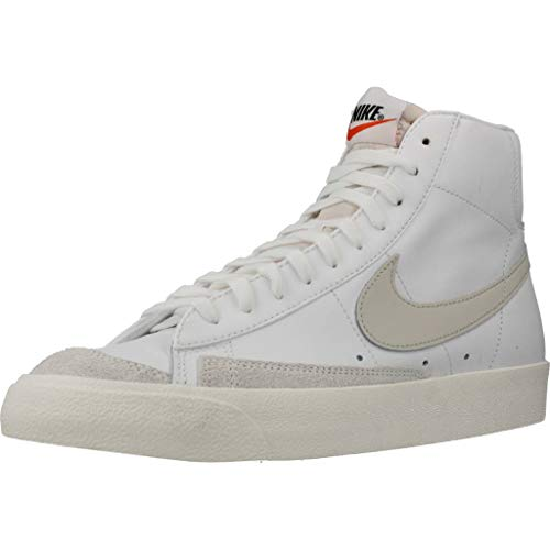 Nike Blazer Mid '77 VNTG  Zapatillas de bsquetbol Hombre  White Lt Bone Sail  41 EU