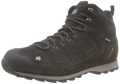 Lafuma Apennins Clim Mid M, Chaussures de Randonnée Hautes Homme,Noir (Asphalt 3744),43 1/3 EU