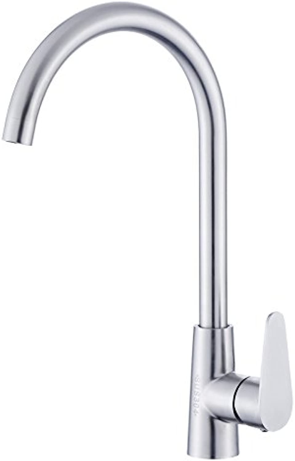 304 Stainless Steel Kitchen Sink, Wash Basin, Hot And Cold Kitchen Tap