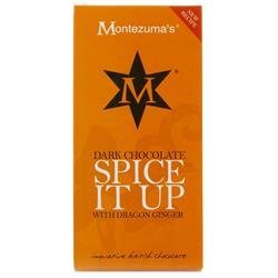 Creative chocolate from Britain With a spicy zing of dragon ginger Made with imagination and love Perfect social snack