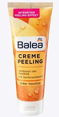 Peeling Creme - Verfeinert das Hautbild - Mit Aprikosenkernöl - Für jeden Hauttyp - 75 ml