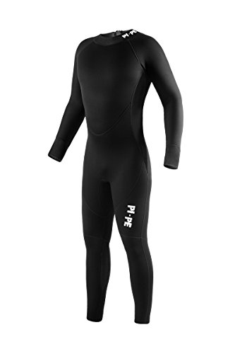 PI-PE Pure - Muta lunga in neoprene da 3 mm, Nero , X-Large