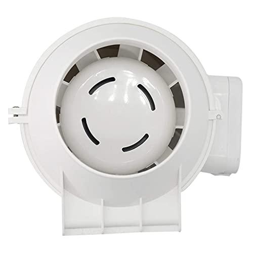 Avgasfläkt, Badrumsextrakt Fönsterfläktar med avgas och intag, Ume Extractor Hushållsventilationsfläkt Ny stark statisk tryckkåpa, 8, stum vattentät, energieffektiv och effektiv för badrum/kök/v