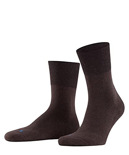 FALKE Unisex Run U SO Socken, Blickdicht, Braun (Dark Brown 5450), 39-41