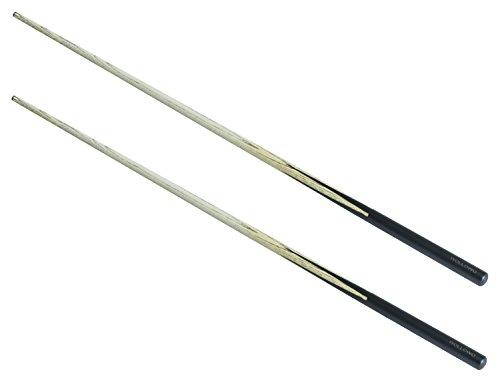 Wollowo - Queue für Snooker/Poolbillard - ideal für Kinder - 92cm - 2 Stück