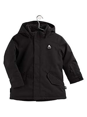Burton Kids Parka Jacket, True Black, 3T