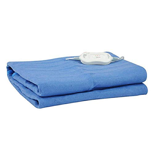 Electric blanket Sky Blue Electric Heating Blanket,single Super Soft Dehumidifying For Adults,low-pressure Solar Heating Blanket Suitable For Bed Office Size 57 Inches * 45 Inches rx