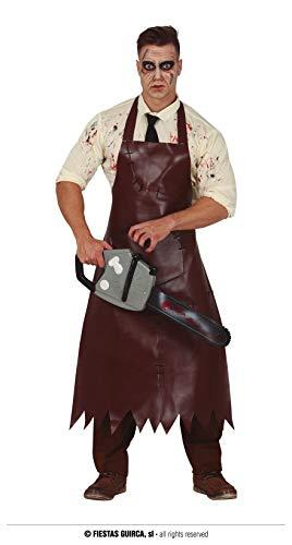 Disfraz de carnicero asesino en serie talla nica