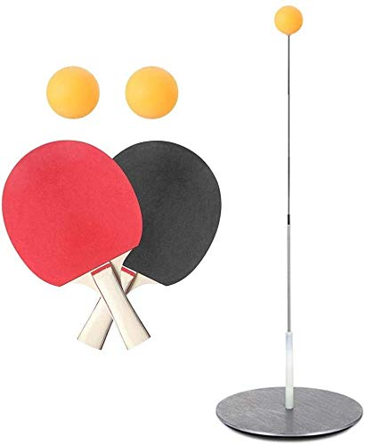 New Candtong Table tennis training device elastic rod. Portable table tennis trainer with flexible s...