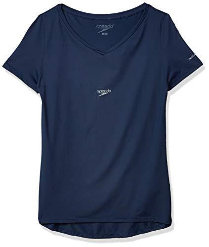 T-Shirt Fresh V, Speedo, G, Azul