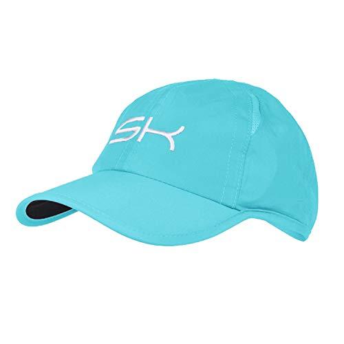 Sportkind Casquette de golf pour enfant, Adulte (mixte) / Enfant (mixte), Turquoise., 57-59