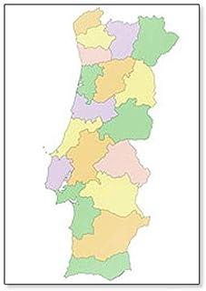 Portogallo Cartina Fisica E Politica.Portogallo Cartina Fisica E Politica
