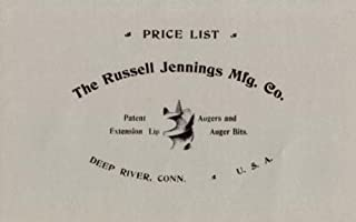 The Russell Jennings Manufacturing Company 1899 Catalog (Tools)