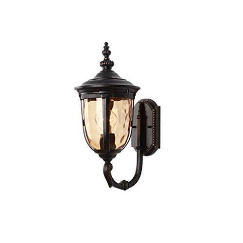 Wandlamp eenvoudige buitenwandlamp LED waterdicht balkon licht gang deur buitenmuur lamp palen tuinverlichting lostgaming