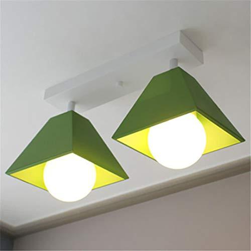 Lámparas de techo LED de colourfull LED Lámpara de techo LED moderna para salón/comedor Lámparas Home Deco White 3 Lights