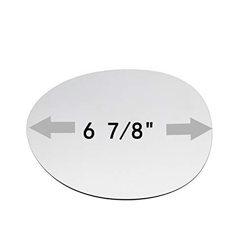 ReYee Side Mirror Replacement Glass fit for 2014 2015 2016 2017 2018 MINI Cooper Driver Left Side No Backing Plate Flat Including Adhesive
