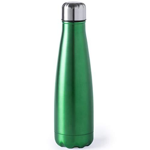 eBuy GB Thermosflasche aus Edelstahl, 630 ml, Grün