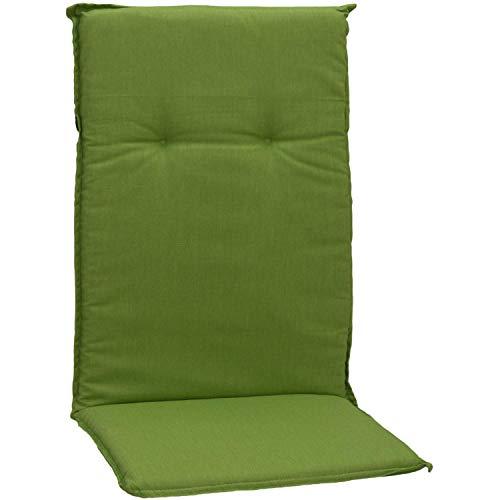 Beo Kissen Polster für Hochlehner in apfelgrün für Gartenmöbel