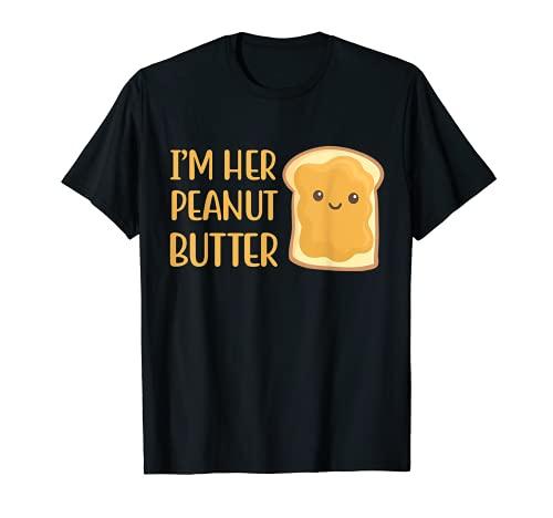 Disfraz de Halloween con mantequilla de man para l Camiseta