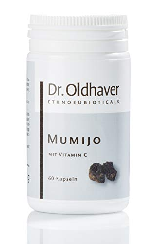 Dr. Oldhaver Mumijo Kapseln, Shilajit Pulver, ayurvedische Nahrungsergänzung, Huminsäure Kapseln, unterstützt das Immunsystem, 60 Kapseln