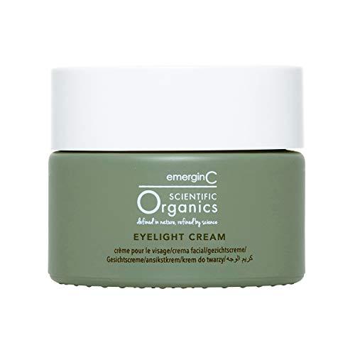 emerginC Scientific Organics Eyelight Cream - Stem Cell Brightening Eye Cream with Antioxidants - Anti-Aging Eye Cream Targets Dark Under-Eye Circles for Visible Glow (0.5 oz, 15 ml)