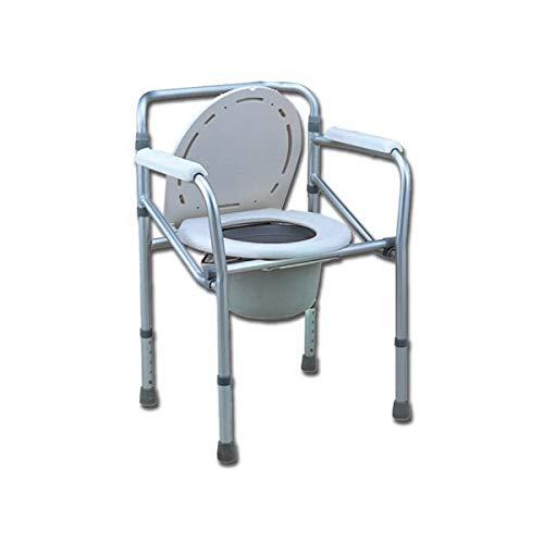 Comoda WCWC-Stuhl für WC oder Dusche, Höhe verstellbar 45–55cm
