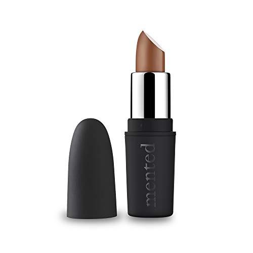 Velvet Matte Nude Deep Tan Lipstick, Brand Nude, Vegan, Paraben-Free, Cruelty-Free - Mented Cosmetics