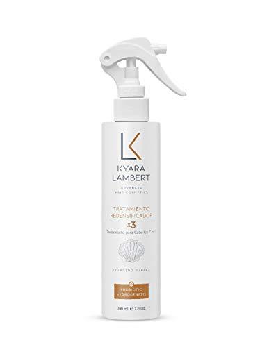 Kyara Lambert - Tratamiento Redensificador x3 con Colágeno Marino concentrado | Tratamiento Cabellos Finos,Volumen, Densidad y Fuerza del Cabello