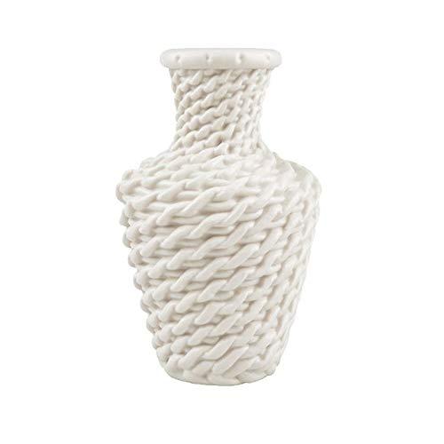 NA vaas van kunststof, Noors, keramiek, bloempot, glazuur voor planten, arrangement, decoratie