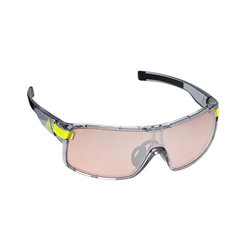 adidas Zonyk Lunettes L, Grey Transparent/lst Active Silver