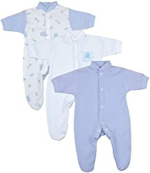 26-30 is approximately 1.5lb, 0.7kg baby weight. THIS SIZE IS FOR A VERY TINY BABY - PLEASE SEE THE MEASUREMENTS ON THE PRODUCT DESCRIPTION FURTHER DOWN THE PAGE. THANK YOU. BabyPrem pack of 3 premature baby sleepsuits / babygros. MEASUREMENTS LENGTH...