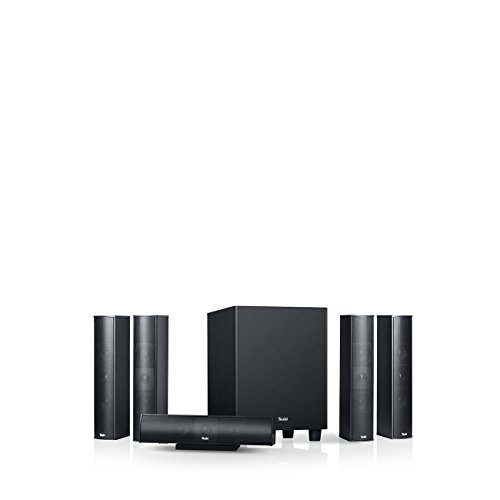 Teufel Columa 300 Easy 5.1-Set S Schwarz Heimkino Lautsprecher 5.1 Soundanlage Kino Raumklang Surround Subwoofer Movie High-End HiFi Speaker