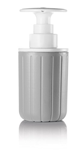 Guzzini Dosasapone Push&Soap Kitchen Active Design, Grigio, 7.2 x h15.7 cm